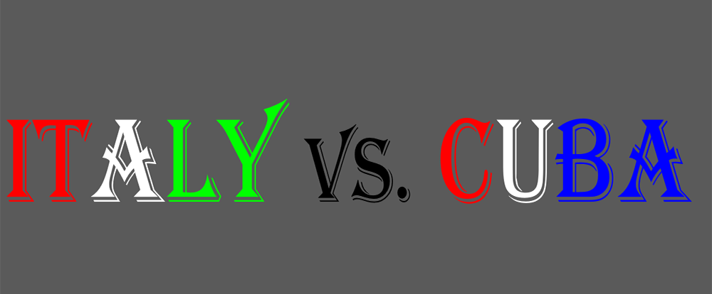 Italy vs. Cuba
