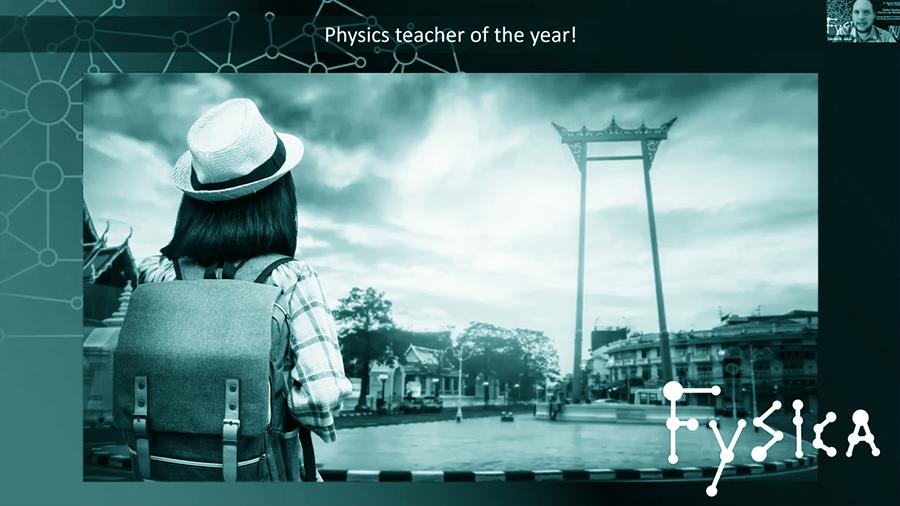 Natuurkundedocent van het jaar 2020